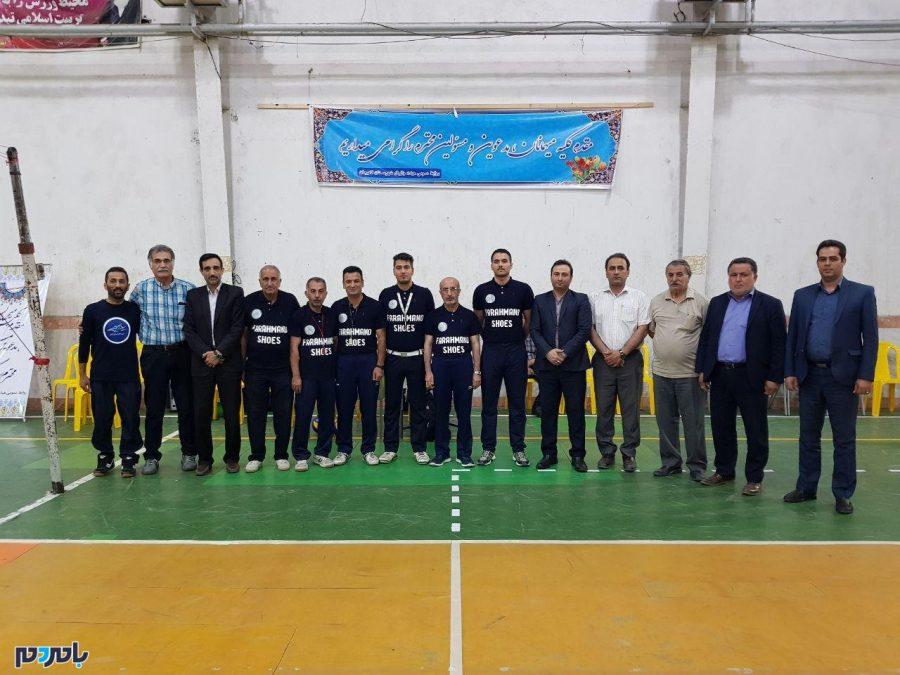 آغاز جام بزرگ والیبال شهرستان لاهیجان + تصاویر