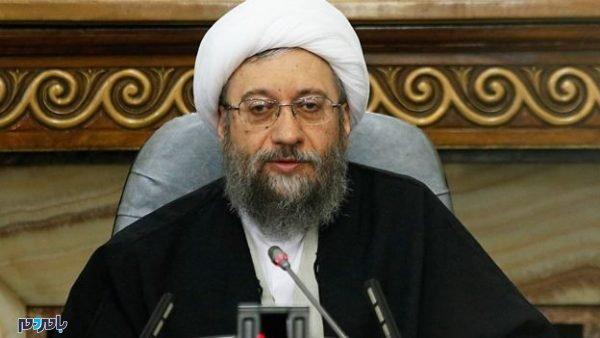 الله صادق آملی لاریجانی 600x338 - موافقت رهبر انقلاب با عفو ۵۰ هزار زندانی