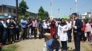 اجرای تئاتر خیابانی به مناسبت هفته مبارزه با مواد مخدر در سطح شهرستان املش