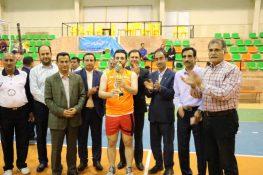 اختتامیه مسابقات والیبال جام رمضان شهرستان لاهیجان برگزار شد + تصاویر