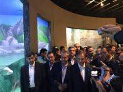 افتتاح بزرگترین مجموعه تفریحی و گردشگری آکواریوم و باغ خزندگان ایران در منطقه آزاد انزلی
