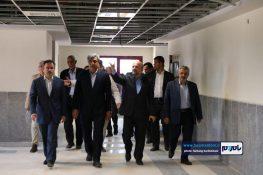 بازدید استاندار گیلان و معاون وزیر راه و شهرسازی از بیمارستان دکتر پیروز لاهیجان + تصاویر