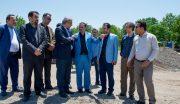 بازدید دبیر شورایعالی مناطق آزاد کشور از منطقه آزاد انزلی