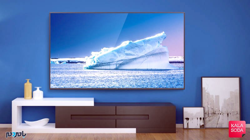 تلویزیون ۷۵ اینچی فوق باریک شیائومی