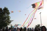 برگزاری جشنواره خانوادگی پرواز بادبادک در بام سبز لاهیجان