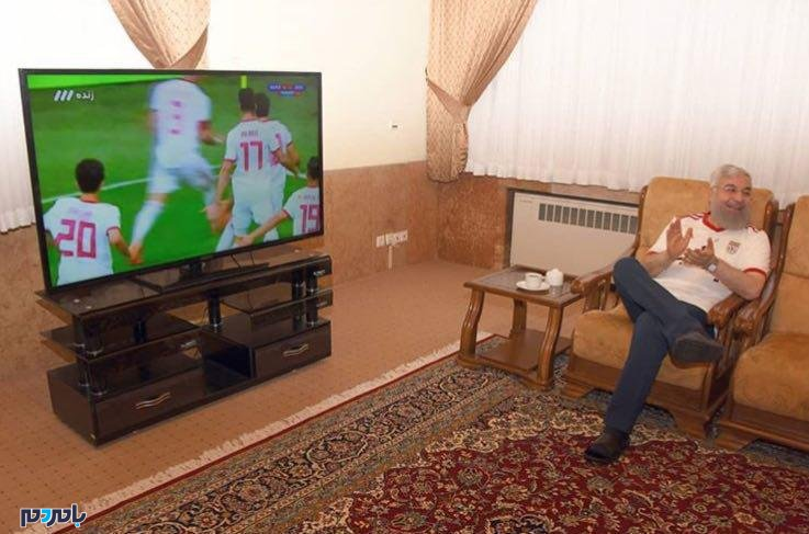 پیام جالب روحانی برای پیروزی تیم ملی فوتبال