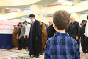 مراسم معنوی اعتکاف در ماه مبارک رمضان در انزلی برگزار شد | گزارش تصویری