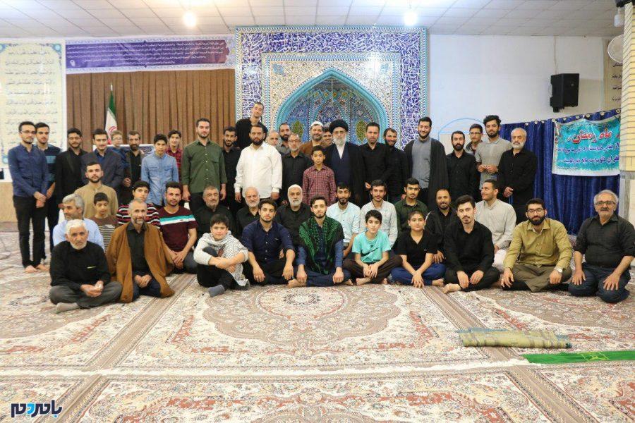مراسم معنوی اعتکاف در ماه مبارک رمضان در انزلی 8 - مراسم معنوی اعتکاف در ماه مبارک رمضان در انزلی برگزار شد | گزارش تصویری