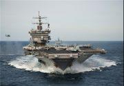 یک ناو بزرگ جنگی آمریکا در خلیج فارس حضور یافت