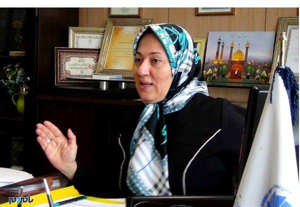 یک زن گیلانی گزینه اول عضو شورای شهر برای شهرداری رشت