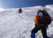 فتح قله لنین توسط کوهنوردان گیلانی