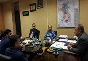نخستین نشست اعضای شورای اسلامی کار با شهردار رشت برگزار شد