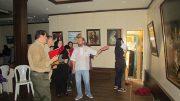 برپایی نمایشگاه نقاشی گروهی « از رنگها بشنو » در لاهیجان