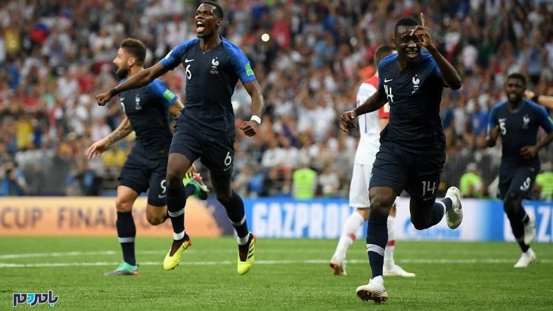 فرانسه برای دومین بار فاتح جام جهانی شد