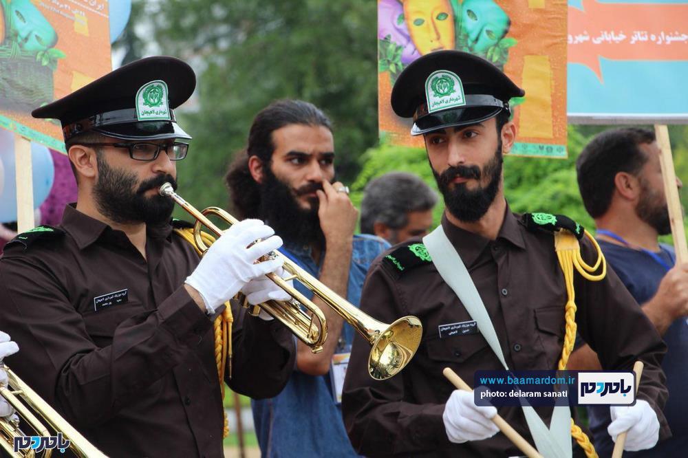 جشنواره تئاتر خیابانی شهروند لاهیجان 16 - گزارش تصویری آغاز جشنواره تئاتر خیابانی شهروند لاهیجان