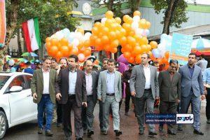 گزارش تصویری آغاز جشنواره تئاتر خیابانی شهروند لاهیجان