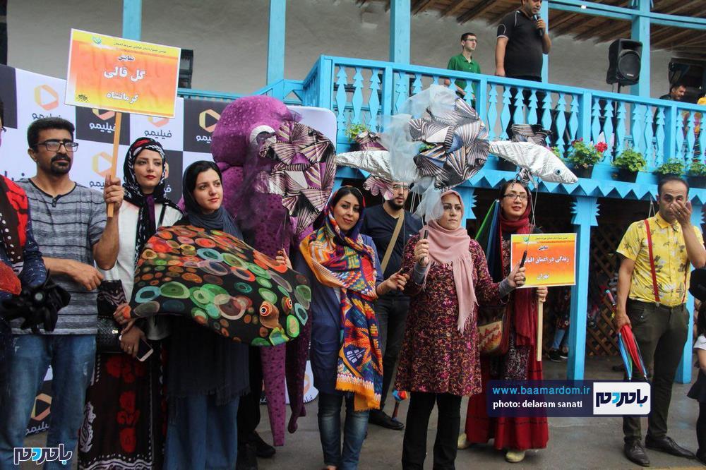 جشنواره تئاتر خیابانی شهروند لاهیجان 8 - گزارش تصویری آغاز جشنواره تئاتر خیابانی شهروند لاهیجان