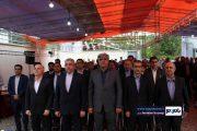 افتتاح هم زمان شش پروژه شرکت برق منطقه ای گیلان با حضور وزیر نیرو و استاندار گیلان  / گزارش تصویری