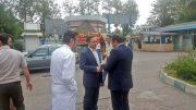 بازدید سرزده سرپرست فرمانداری لاهیجان از بیمارستان ۲۲ آبان + تصاویر