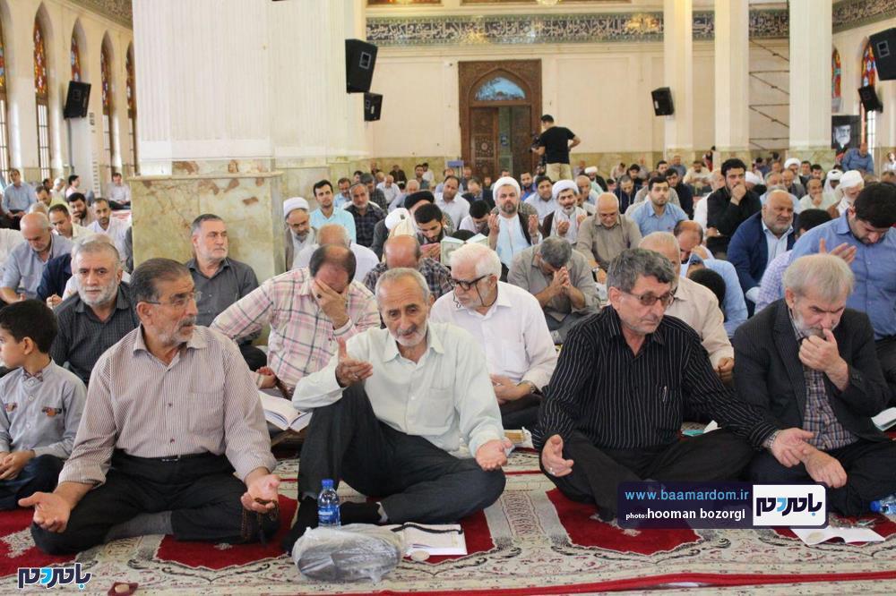 دعای پرفیض عرفه در رشت 1 - گزارش تصویری برگزاری دعای پرفیض عرفه در رشت