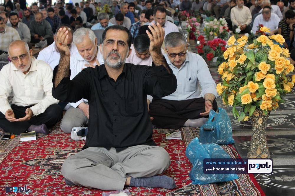 گزارش تصویری برگزاری دعای پرفیض عرفه در رشت