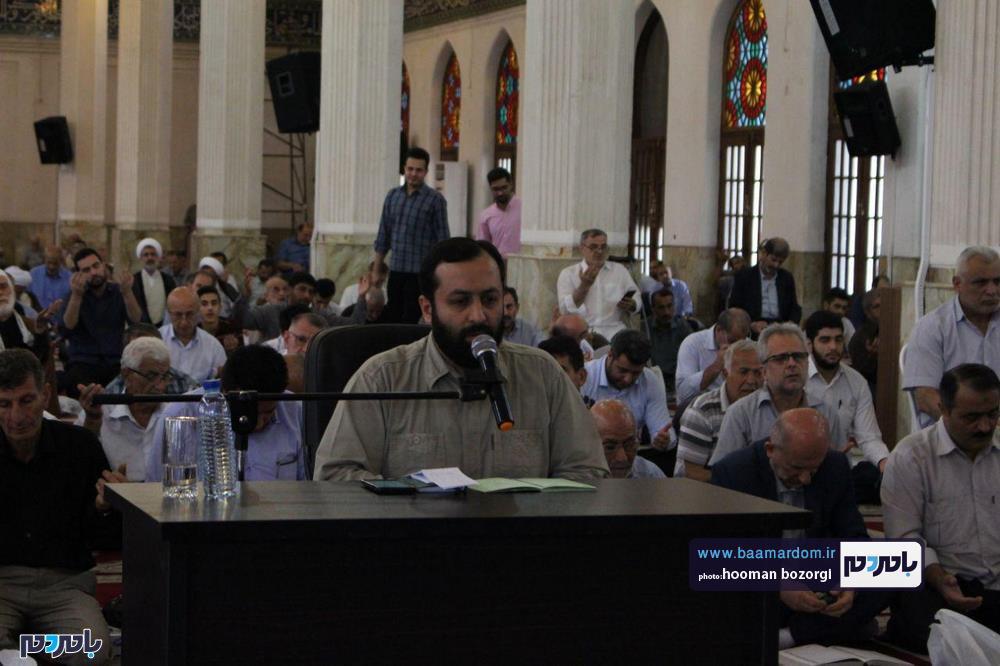دعای پرفیض عرفه در رشت 2 - گزارش تصویری برگزاری دعای پرفیض عرفه در رشت