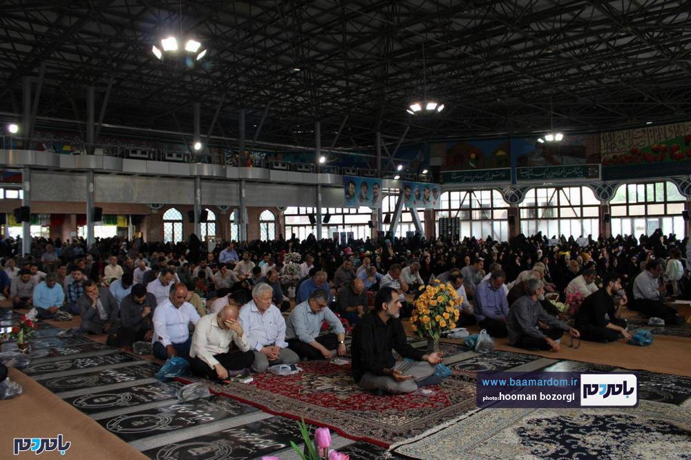 دعای پرفیض عرفه در رشت 9 - گزارش تصویری برگزاری دعای پرفیض عرفه در رشت