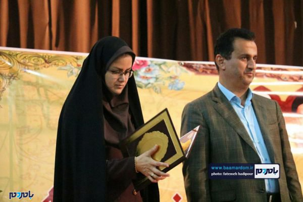 از کارمندان نمونه لاهیجان 11 600x400 - کارمندان نمونه شهرستان لاهیجان تجلیل شدند / گزارش تصویری