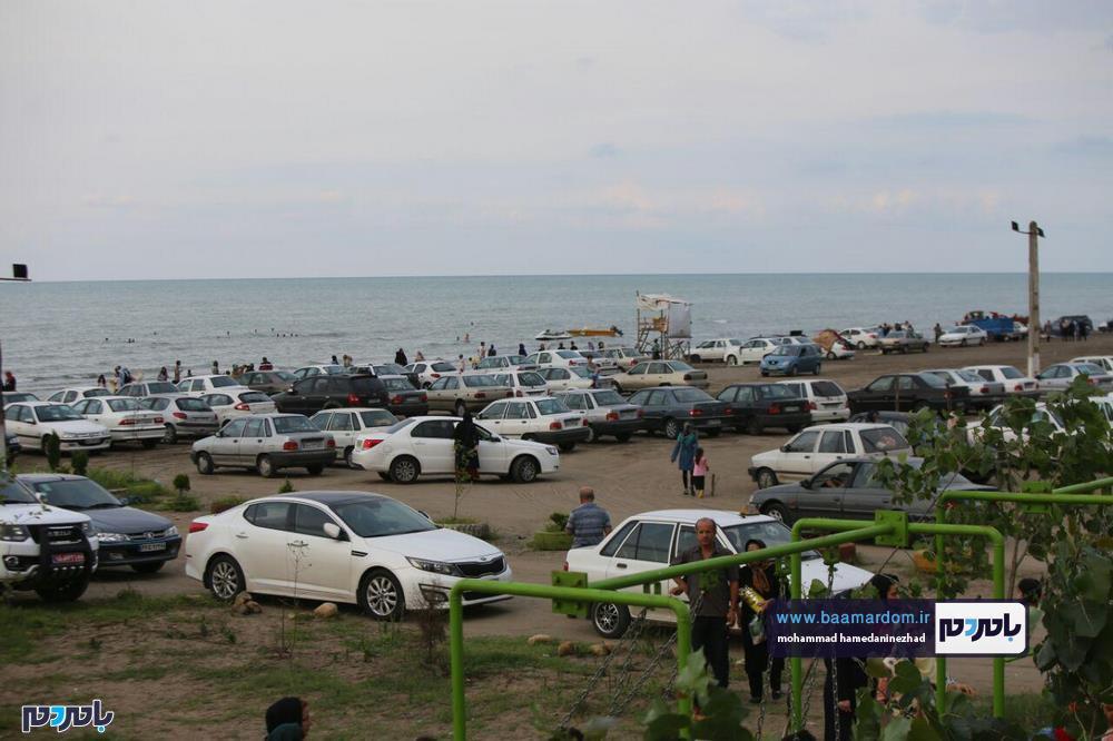 مجسمههای شنی در ساحل سارینا واجارگاه رودسر 9 - جشنواره مجسمههای شنی در ساحل سارینا واجارگاه رودسر برگزار شد / گزارش تصویری