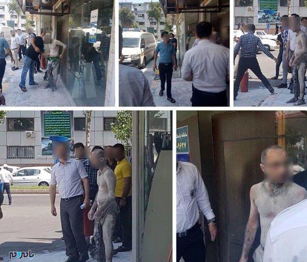 خودسوزی مردجوان در پمپ بنزین گلسار رشت + عکس
