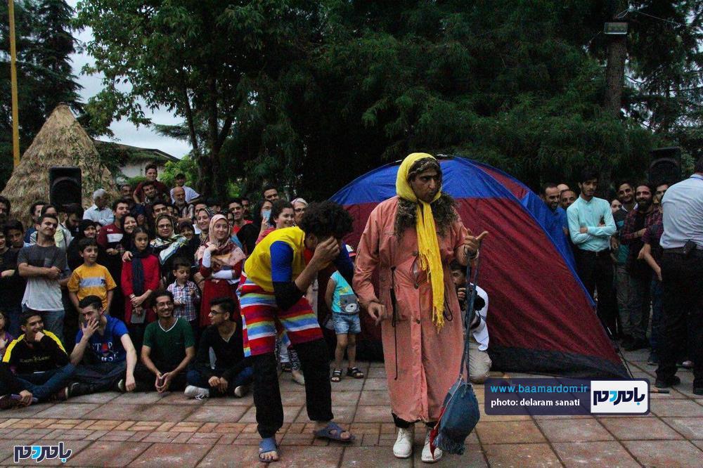 گزارش تصویری دومین روز از نهمین دوره جشنواره تئاتر خیابانی شهروند لاهیجان