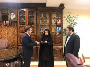 بخشدار مرکزی لاهیجان مشاور حقوقی فرمانداری شد
