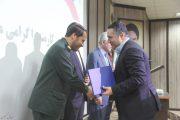 شهردار لنگرود به عنوان مدیر برتر در بین مدیران شهرستان معرفی شد + تصاویر