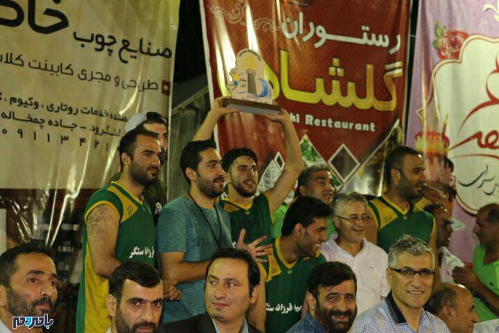 فینال کاپ والیبال امیر آباد، بزرگترین کاپ فضای باز استان گیلان برگزار شد /گزارش تصویری
