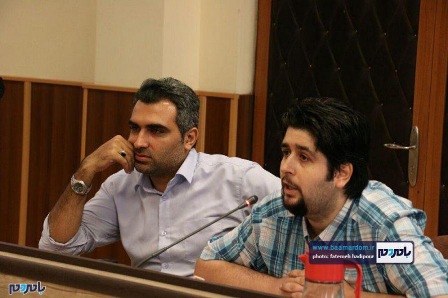 خبری فرماندار لاهیجان 13 - گزارش تصویری نشست فرماندار لاهیجان با اصحاب رسانه به مناسبت روز خبرنگار