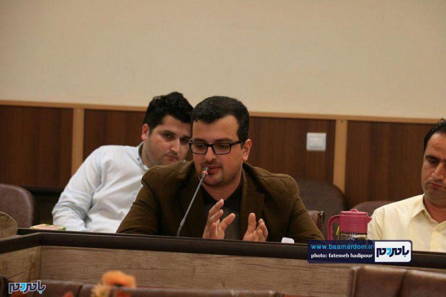 خبری فرماندار لاهیجان 14 - گزارش تصویری نشست فرماندار لاهیجان با اصحاب رسانه به مناسبت روز خبرنگار