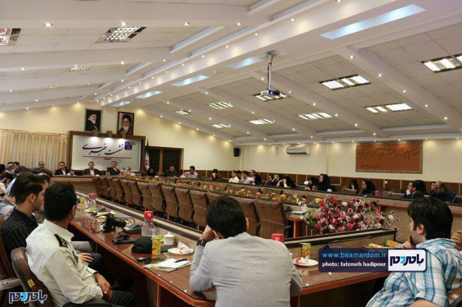 خبری فرماندار لاهیجان 15 - گزارش تصویری نشست فرماندار لاهیجان با اصحاب رسانه به مناسبت روز خبرنگار