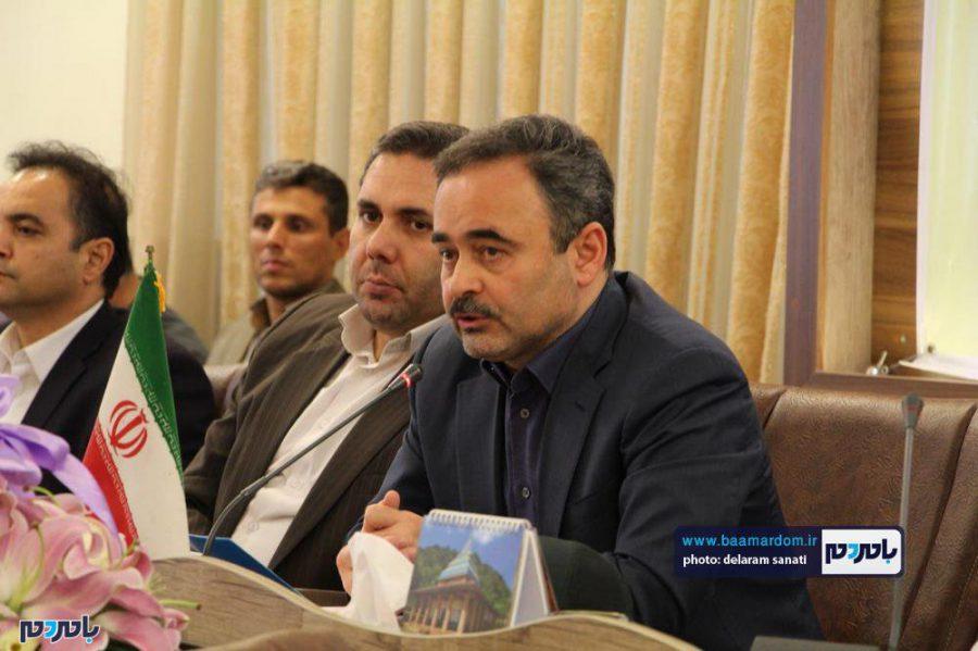 خبری فرماندار لاهیجان 16 - گزارش تصویری نشست فرماندار لاهیجان با اصحاب رسانه به مناسبت روز خبرنگار