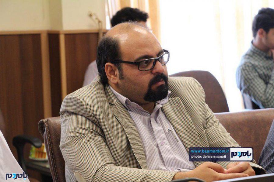 خبری فرماندار لاهیجان 19 - گزارش تصویری نشست فرماندار لاهیجان با اصحاب رسانه به مناسبت روز خبرنگار