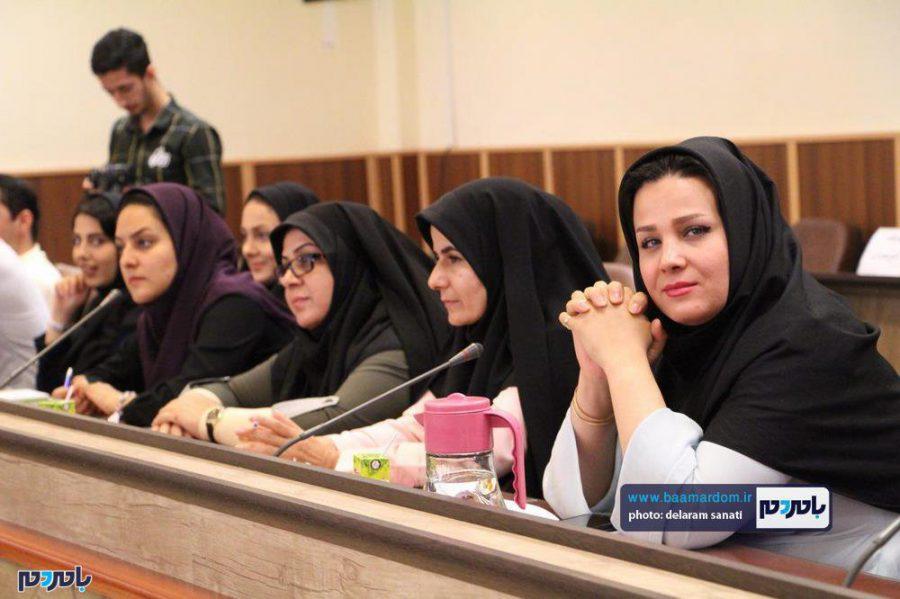 خبری فرماندار لاهیجان 24 - گزارش تصویری نشست فرماندار لاهیجان با اصحاب رسانه به مناسبت روز خبرنگار