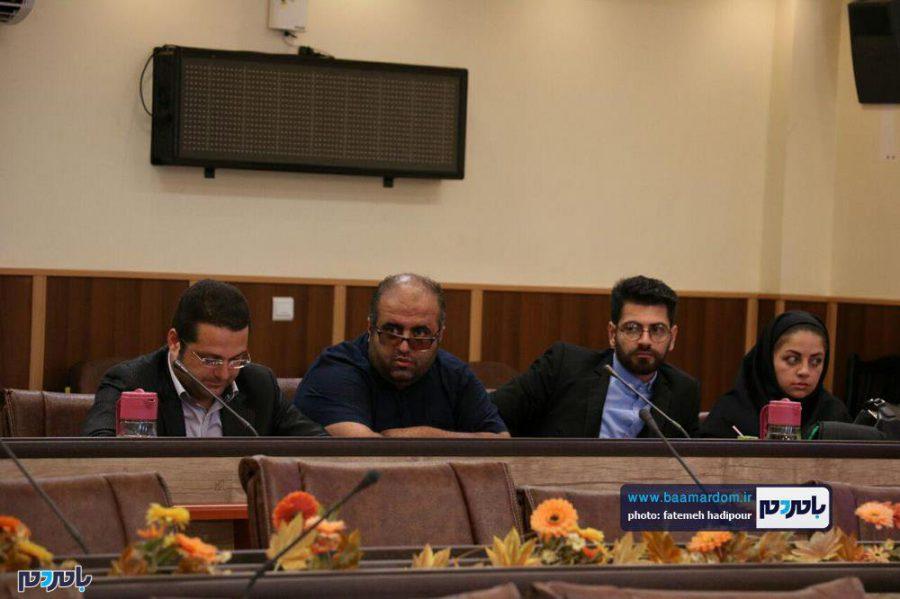 خبری فرماندار لاهیجان 4 - گزارش تصویری نشست فرماندار لاهیجان با اصحاب رسانه به مناسبت روز خبرنگار