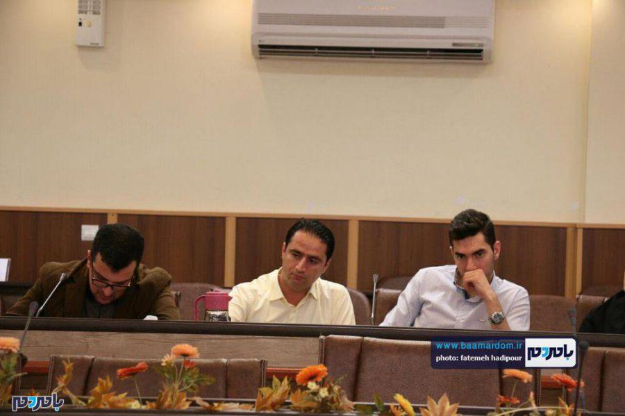 خبری فرماندار لاهیجان 5 - گزارش تصویری نشست فرماندار لاهیجان با اصحاب رسانه به مناسبت روز خبرنگار