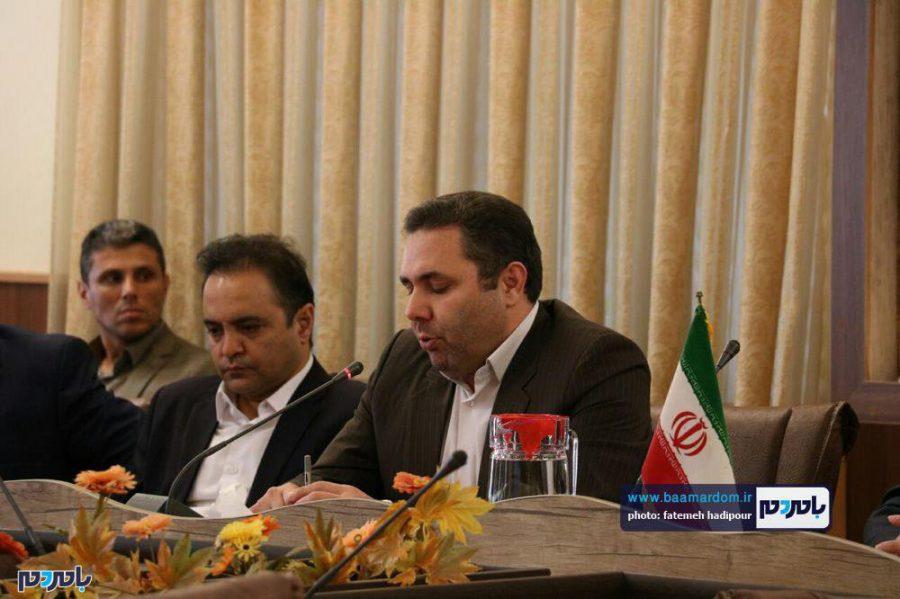 خبری فرماندار لاهیجان 6 - گزارش تصویری نشست فرماندار لاهیجان با اصحاب رسانه به مناسبت روز خبرنگار