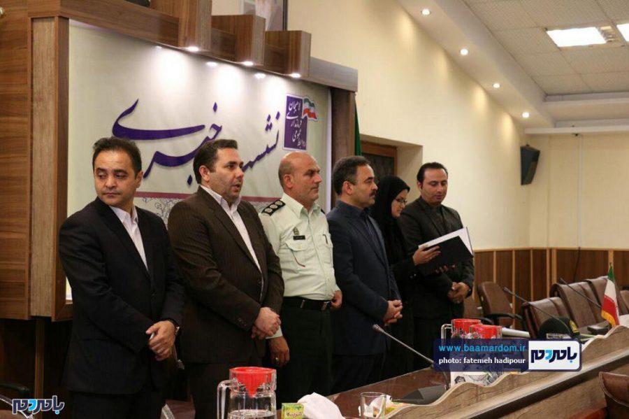 خبری فرماندار لاهیجان 9 - گزارش تصویری نشست فرماندار لاهیجان با اصحاب رسانه به مناسبت روز خبرنگار