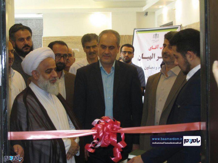 نهمین دفتر خدمات الکترونیک قضایی ظهر امروز در شهرستان رودسر افتتاح شد + تصاویر