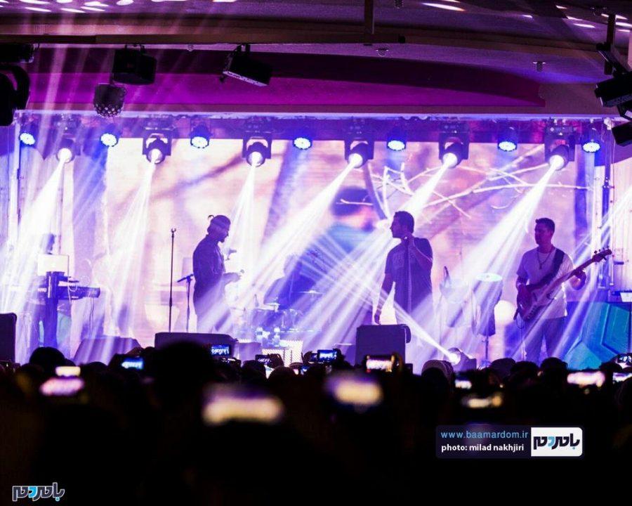 موسیقی «ماکان بند» در لاهیجان 2 - گزارش تصویری کنسرت موسیقی «ماکان بند» در لاهیجان