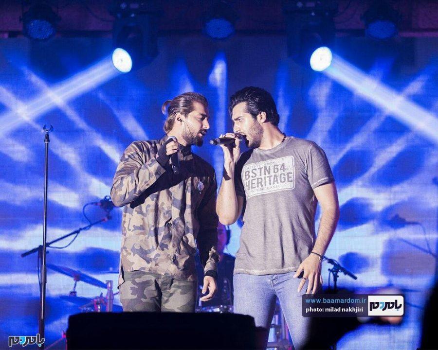 موسیقی «ماکان بند» در لاهیجان 4 - گزارش تصویری کنسرت موسیقی «ماکان بند» در لاهیجان