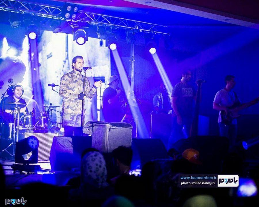 موسیقی «ماکان بند» در لاهیجان 5 - گزارش تصویری کنسرت موسیقی «ماکان بند» در لاهیجان