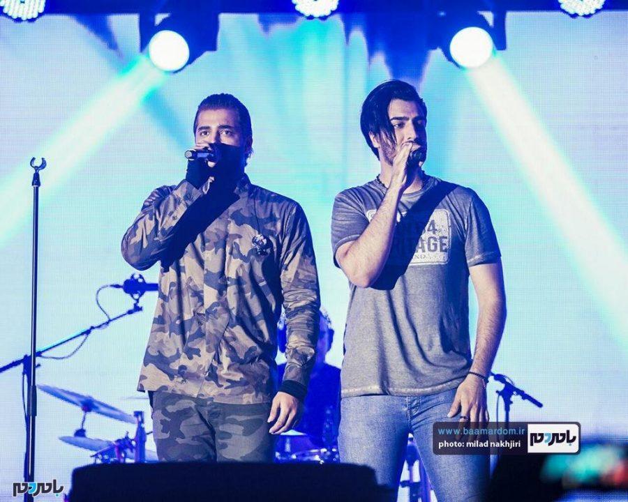 موسیقی «ماکان بند» در لاهیجان 6 - گزارش تصویری کنسرت موسیقی «ماکان بند» در لاهیجان