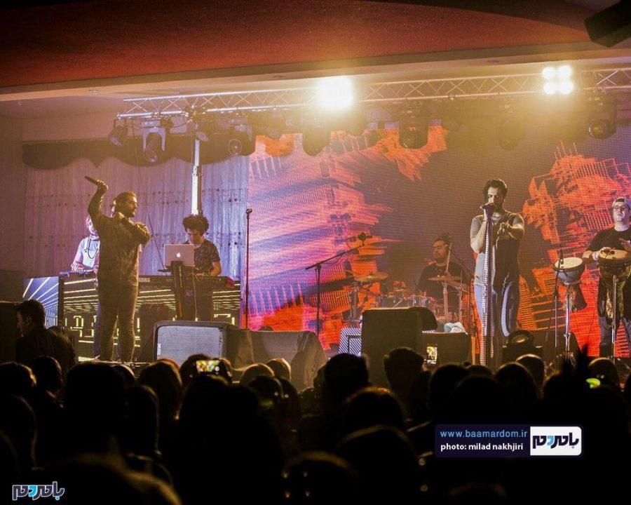 موسیقی «ماکان بند» در لاهیجان 7 - گزارش تصویری کنسرت موسیقی «ماکان بند» در لاهیجان